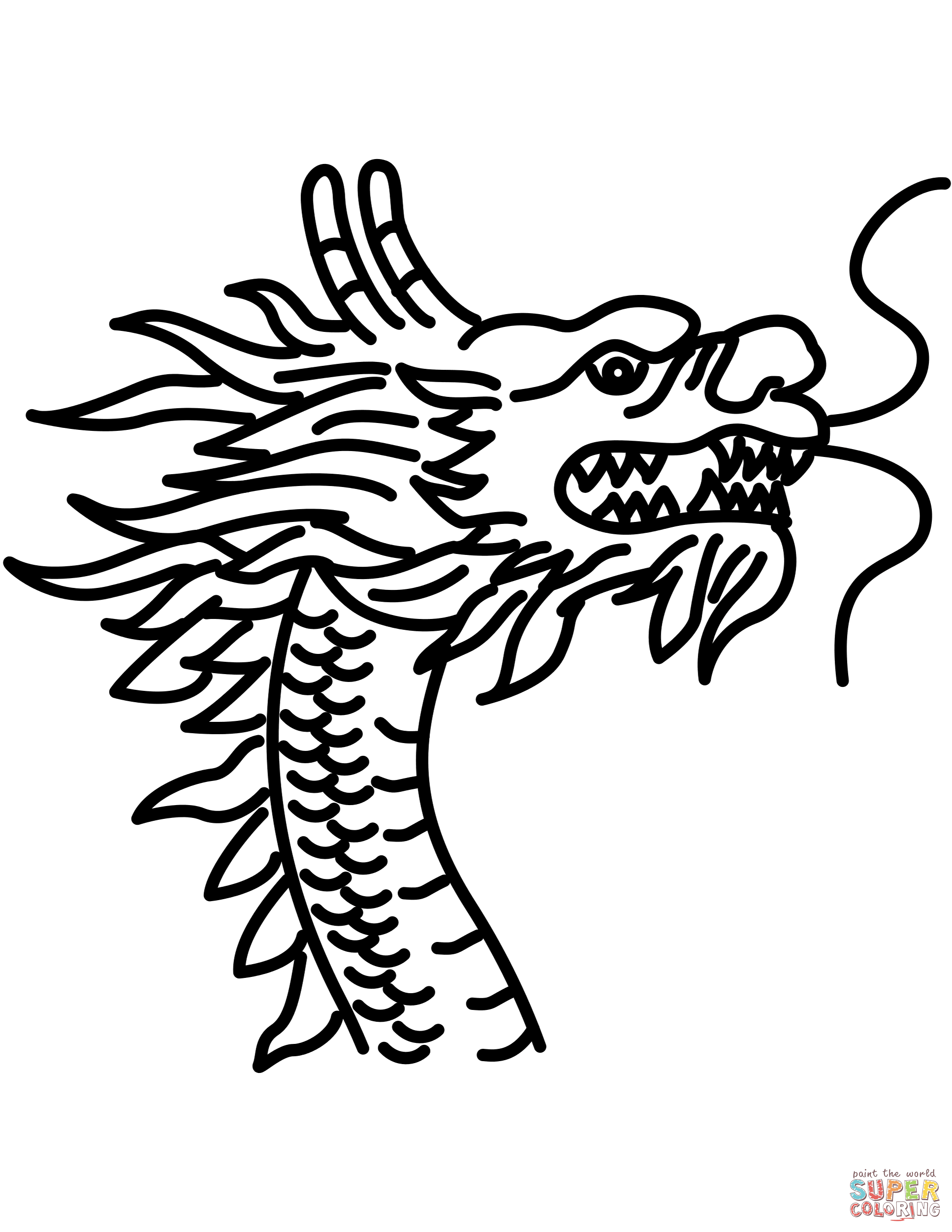 Image result for chinese dragon head | chinese dragon head | Dragon ...