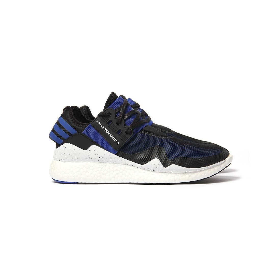 1b0e5fc758ad Repost  Adidas Y-3 Retro Boost (Electric Blue Black-White) now available  online at  cncpts.  cncpts  adidas  y3  boost by cncpts