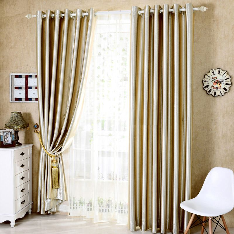 Affordable Cool Window Curtains In Champagne For Blackout Curtains Living Room Curtains Window Curtains #thermal #curtains #for #living #room