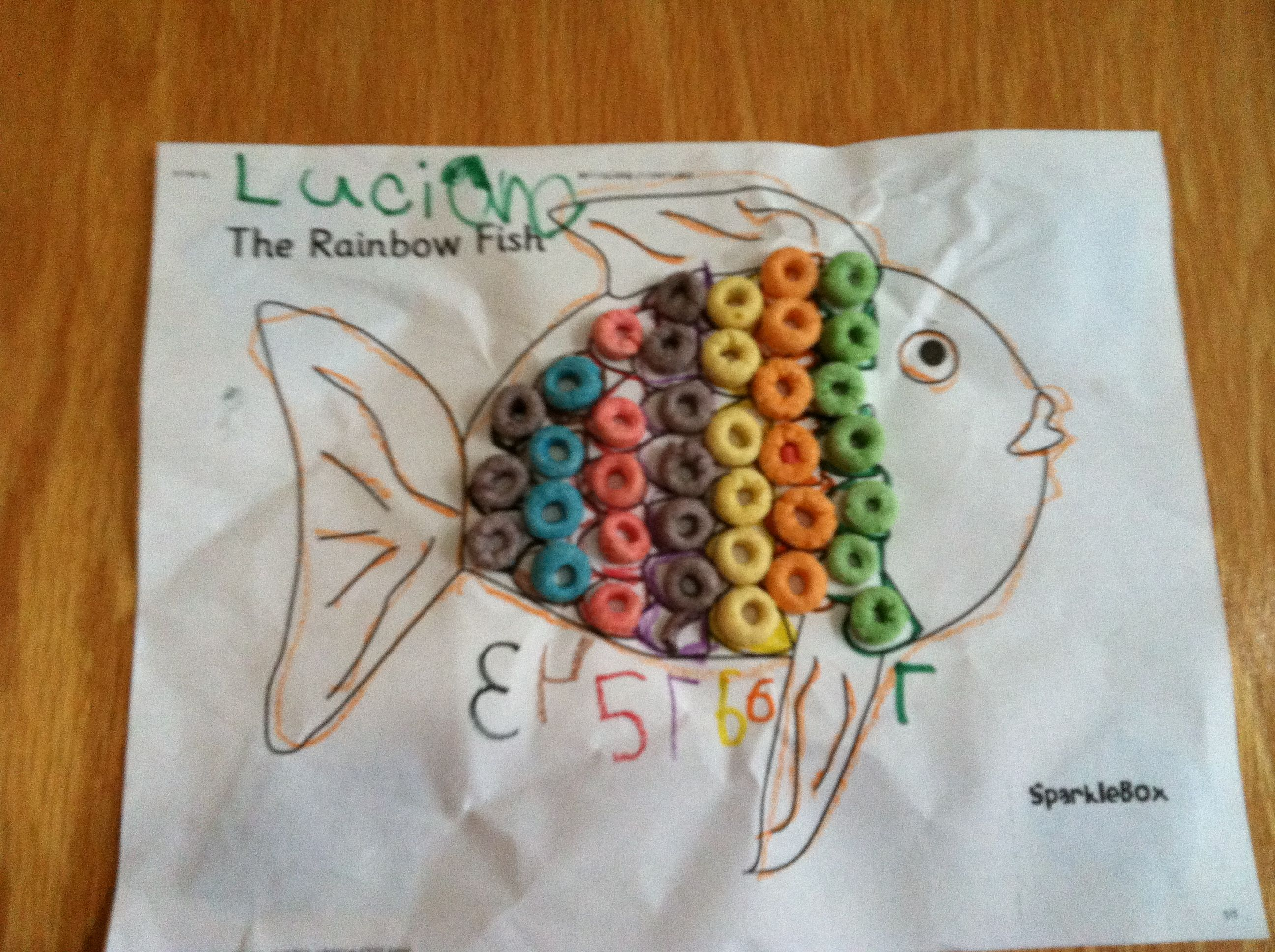 Rainbow Fish Rainbow Fish Ocean Themes Fish [ 1936 x 2592 Pixel ]