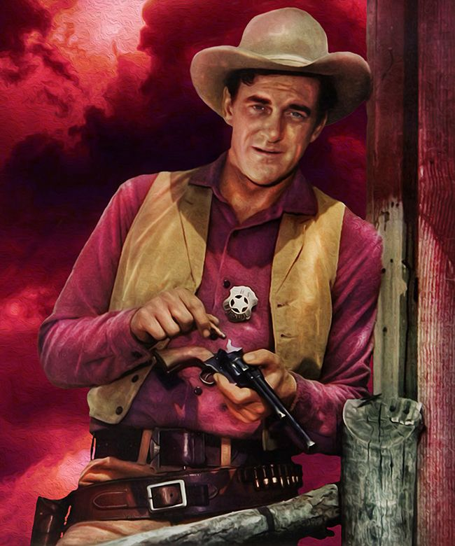 James Arness Metek Artwork 2016 James Arness