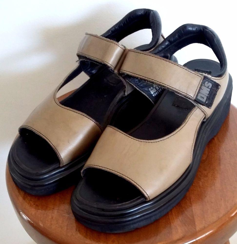 DR. DOC DOCTOR MARTENS Shoes Women's Tan Velcro Closure