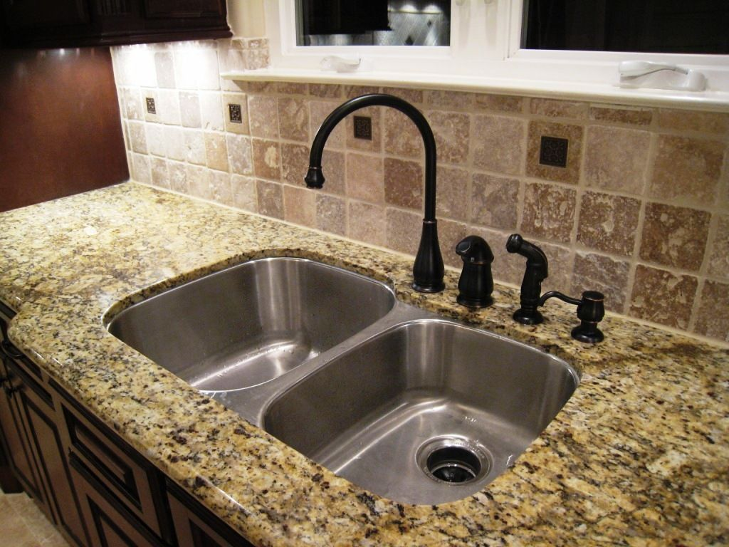 Kitchen Sinks With Granite Countertops Installing Undermount Kitchen Sink Granite Countertop