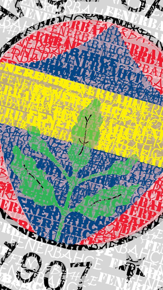Fenerbahçe logo wallpaper for iPhone 5 Fenerbahçe