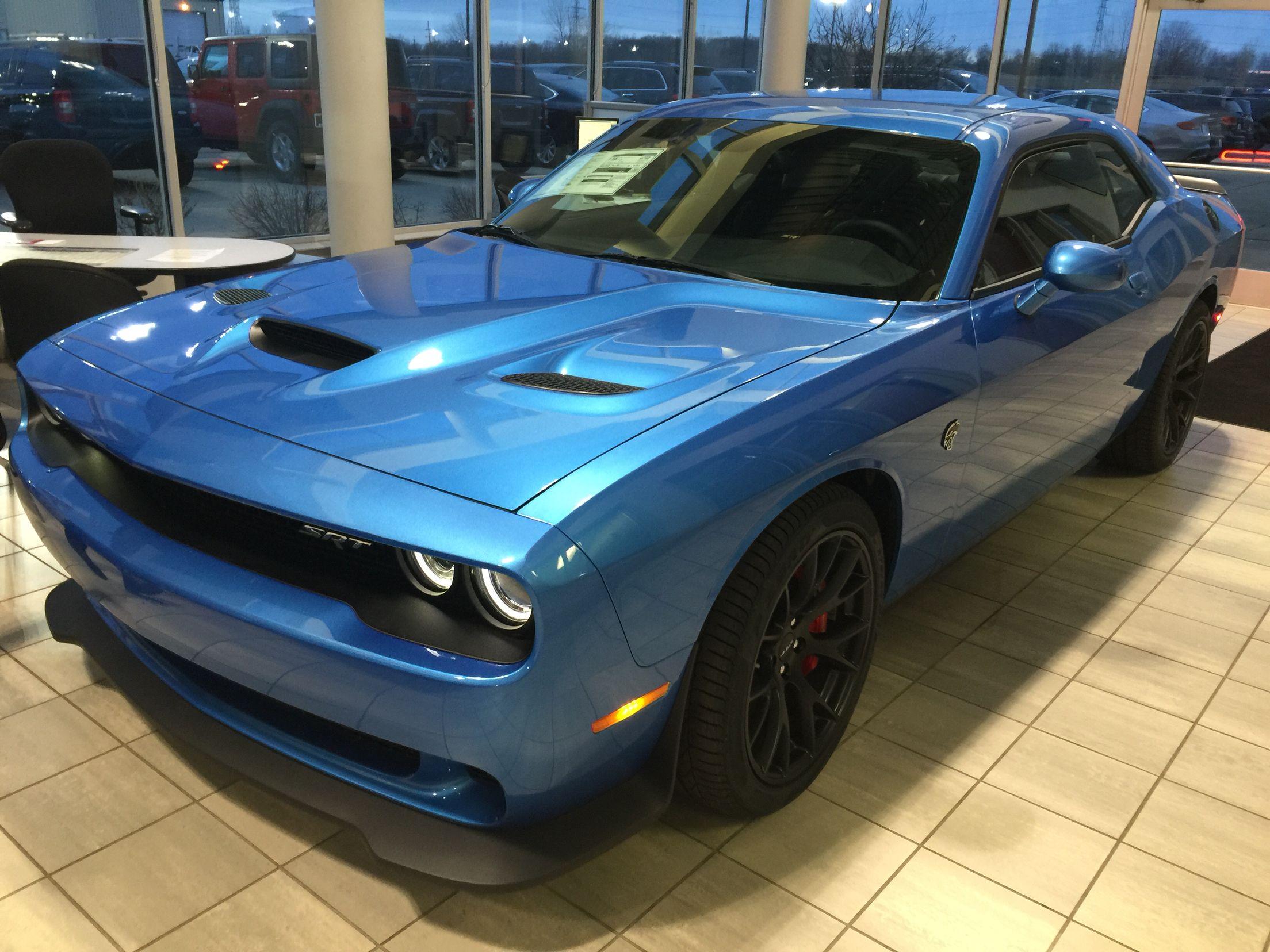 Dodge Challenger Hellcat Blue >> 2015 Dodge Challenger Hellcat B5 Blue At Mcinerneys Chrysler Jeep
