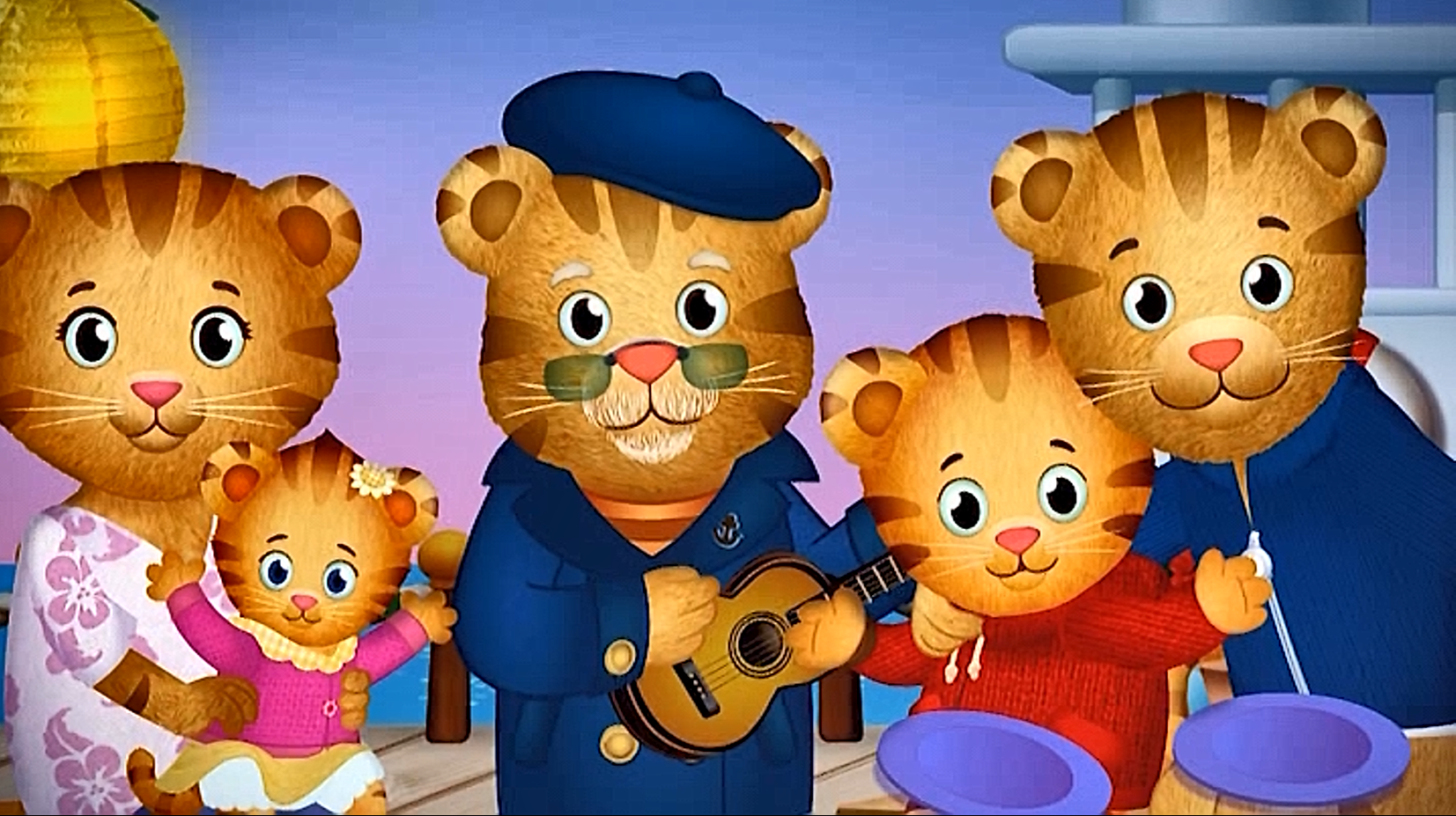 The Entire Tiger Family Daniel Tiger Family Daniel Tiger Birthday Daniel Tiger