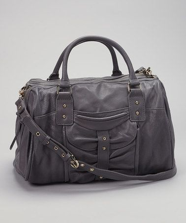 Take A Look At This Slate Bessy Satchel By Junior Drake On Zulily Today