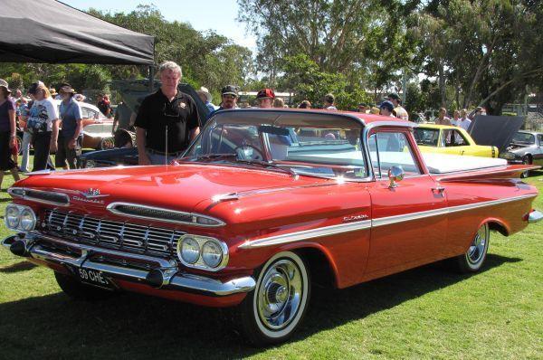 1959 Chevrolet El Camino ute RHD.
