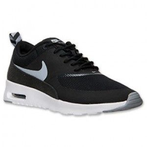 Authentiek Dames Nike Air Max Thea running Schoenen zwart grijs wit
