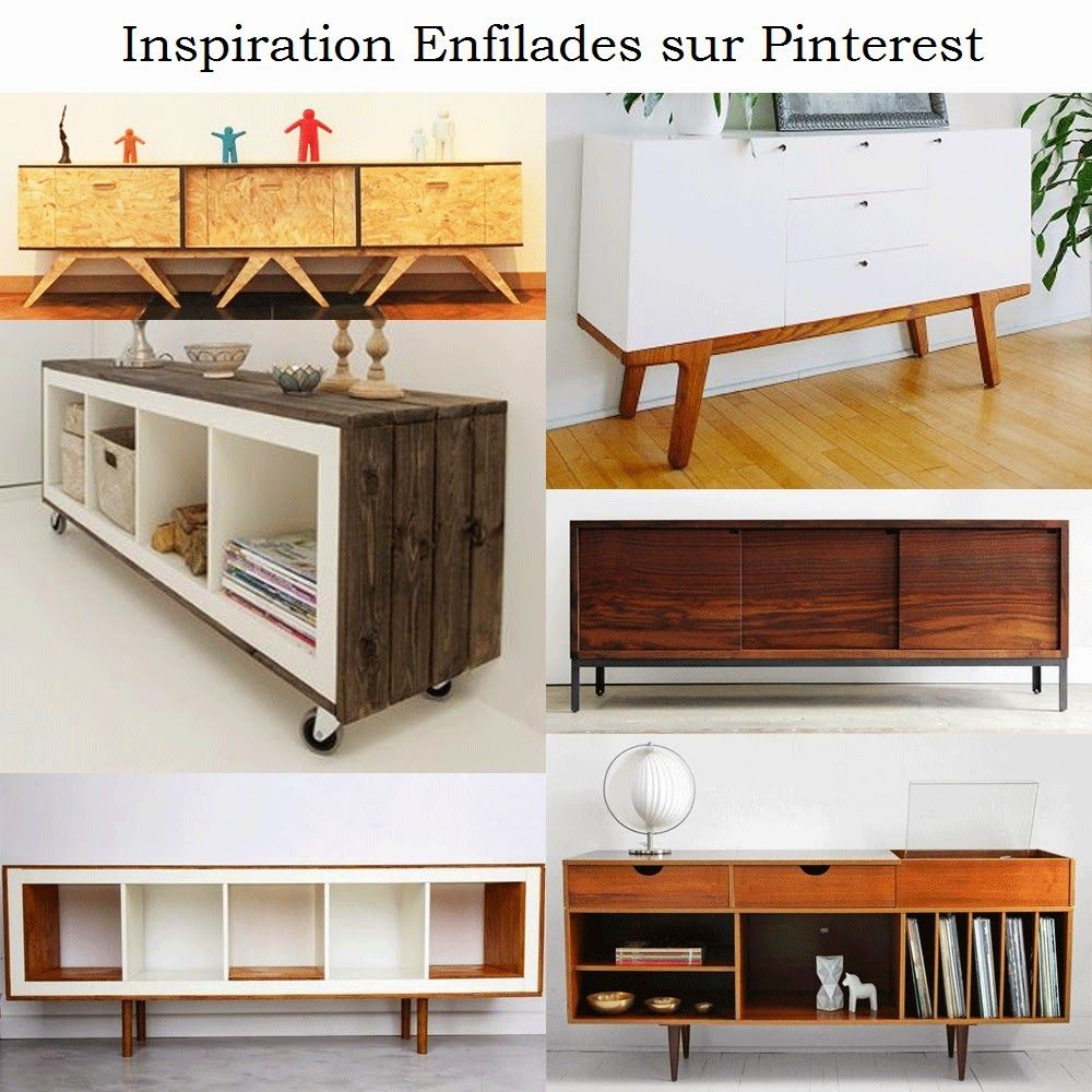 meuble bahut ou enfilade hack ik a expedit kallax ideen pinterest wohnzimmer ikea und. Black Bedroom Furniture Sets. Home Design Ideas