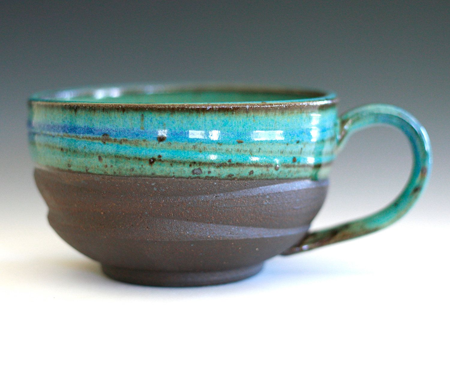 Extra Large Coffee Mug Holds 26 Oz Cuccino Cups Or Soup Bowls 25 00 Via Etsy