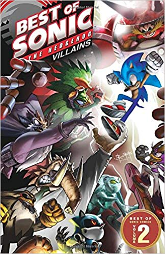 Amazon Com Best Of Sonic The Hedgehog Comics Sonic Art Archie Comics