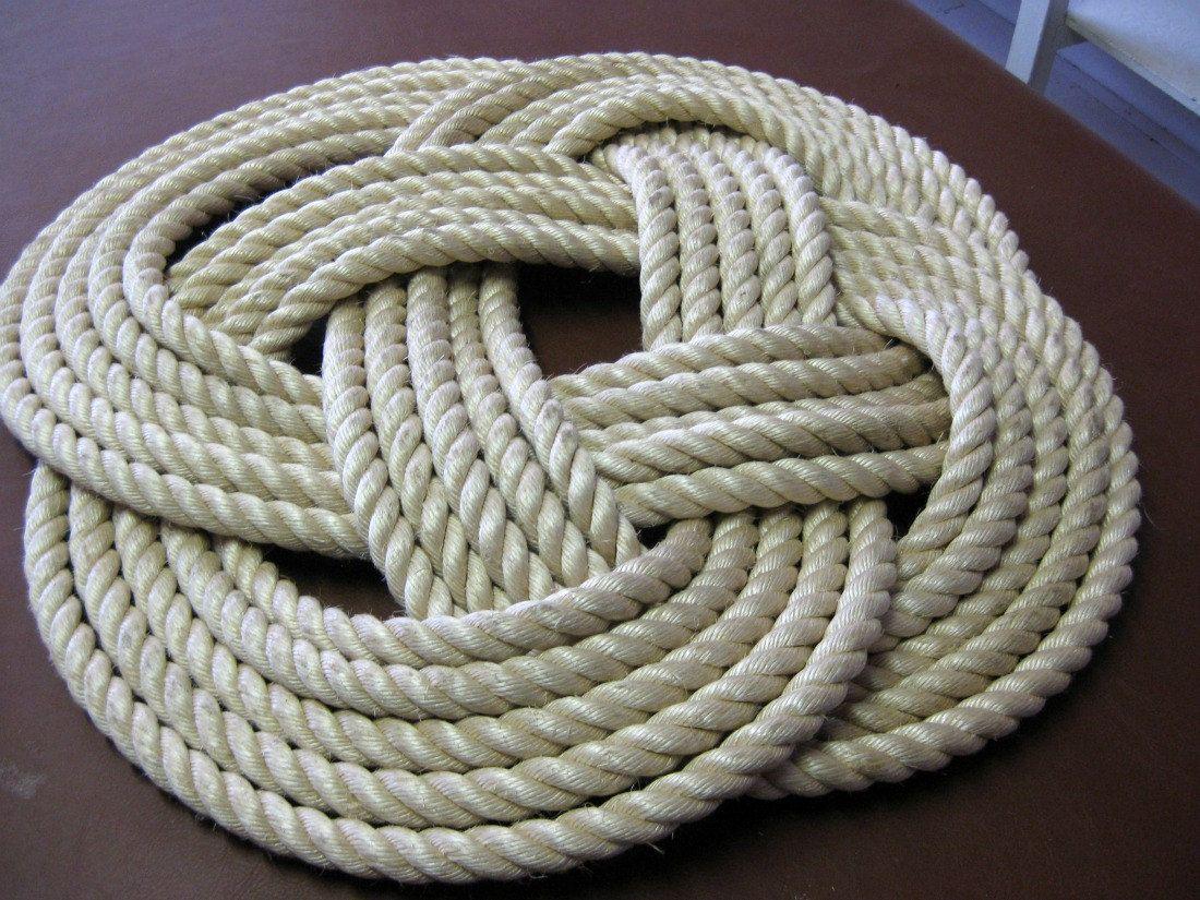 More Rope Rug Ideas Rope Rug Throw Rugs