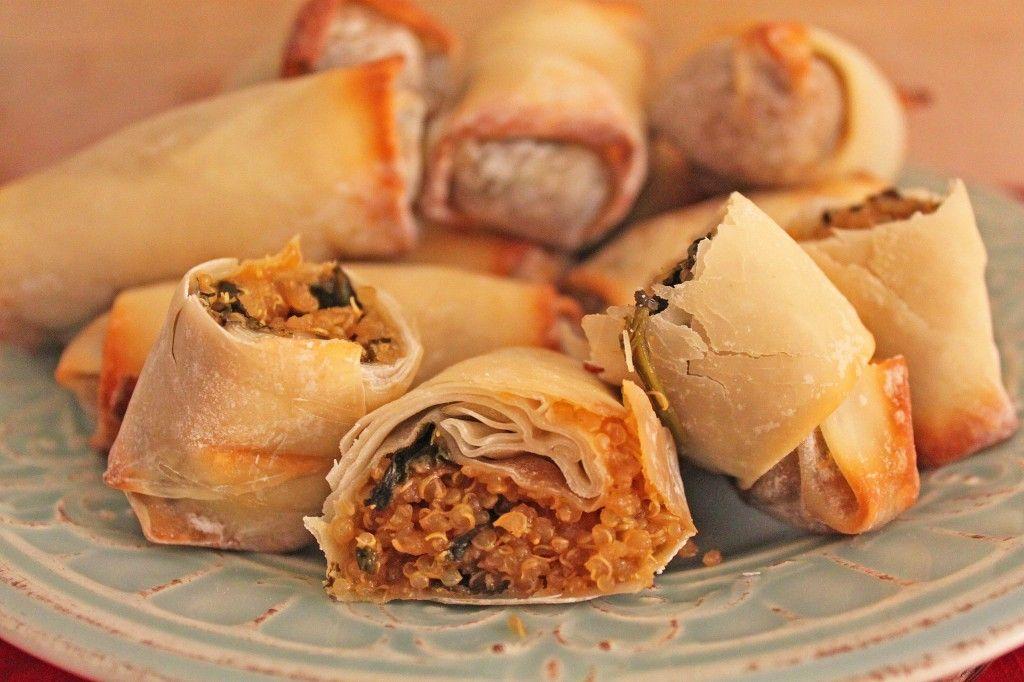 Sesame Quinoa Egg Rolls | Little Kitchen, Big Bites