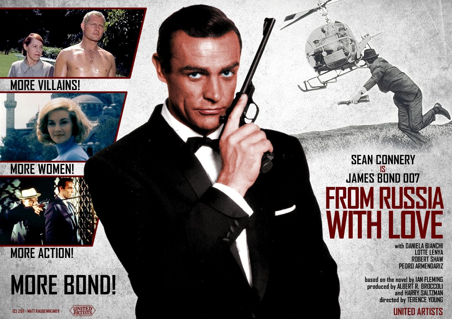 New From Russia With Love Poster With Images James Bond