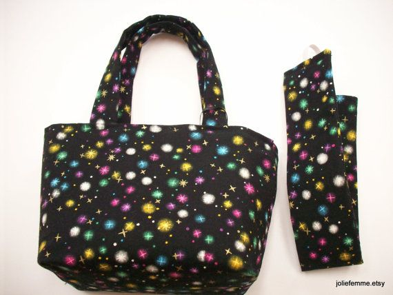 Enchanting Gift Set Pixie Dust Teeny Tote Bag with by joliefemme, $10.00