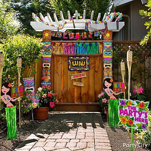Tropical Luau Party Ideas Luau Party Luau And Grand