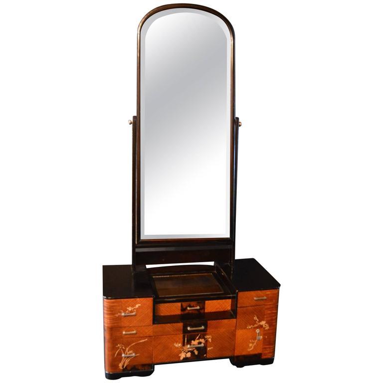 Chinese Deco Vanity Vanity, Deco, Mirror