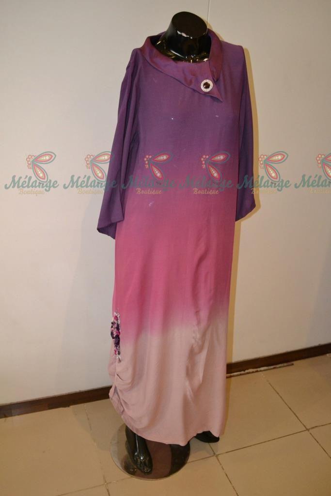 omber dress