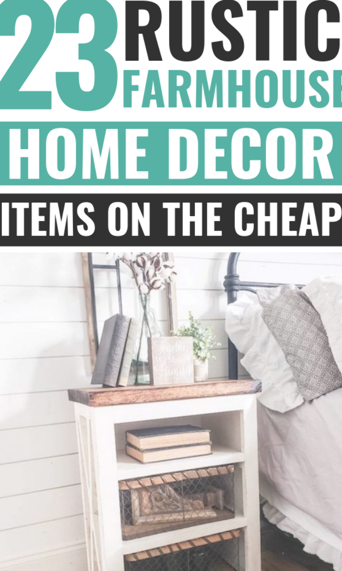 These 23 Farmhouse Style Decor Items On A Budget Are The Best I M