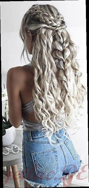Braided hairstyles with curls 2020 - Braided hairstyles curls 3, #Braided #Curls #hairstyles