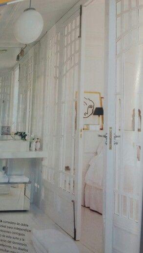 Separación baño dormitorio   Dormitorios, Separación