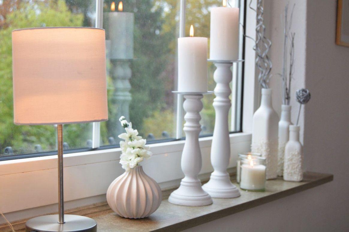 14 Fensterbank Deko Wohnzimmer