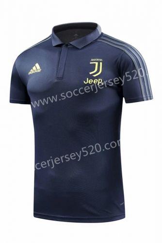 6bc21a014 2018-19 Juventus Dark Blue Thailand Polo Shirt