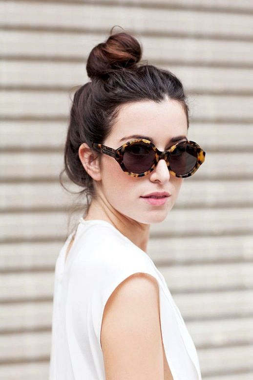 HAIR INSPIRATION: 16 BUNS FOR ANY OCCASION - Le Fashion