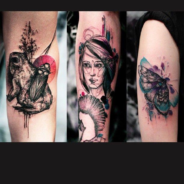 3 New Tattoos By Marty Lipinski From Dead Romanoff Tattoos Tatouage