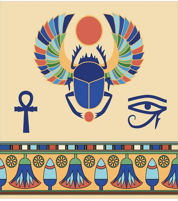 Photo of Ambesonne Egyptian Place Mats, Set of 4  Reviews – Table Linens – Dining – Macy's