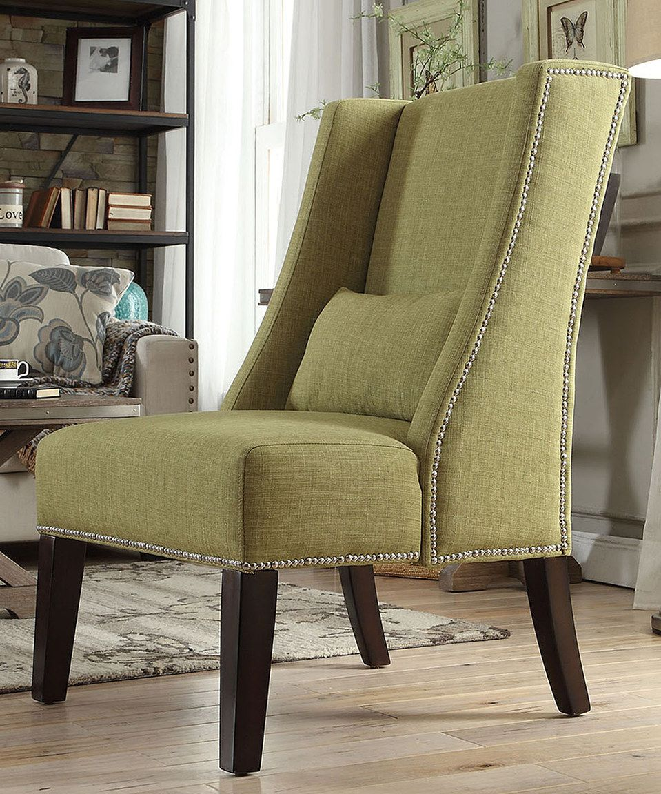 Another Great Find On #zulily! Chartreuse Emporia Wingback