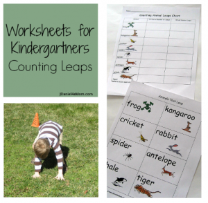 Fun way to get the kids moving and work on math at the same time. Animal leap estimating!