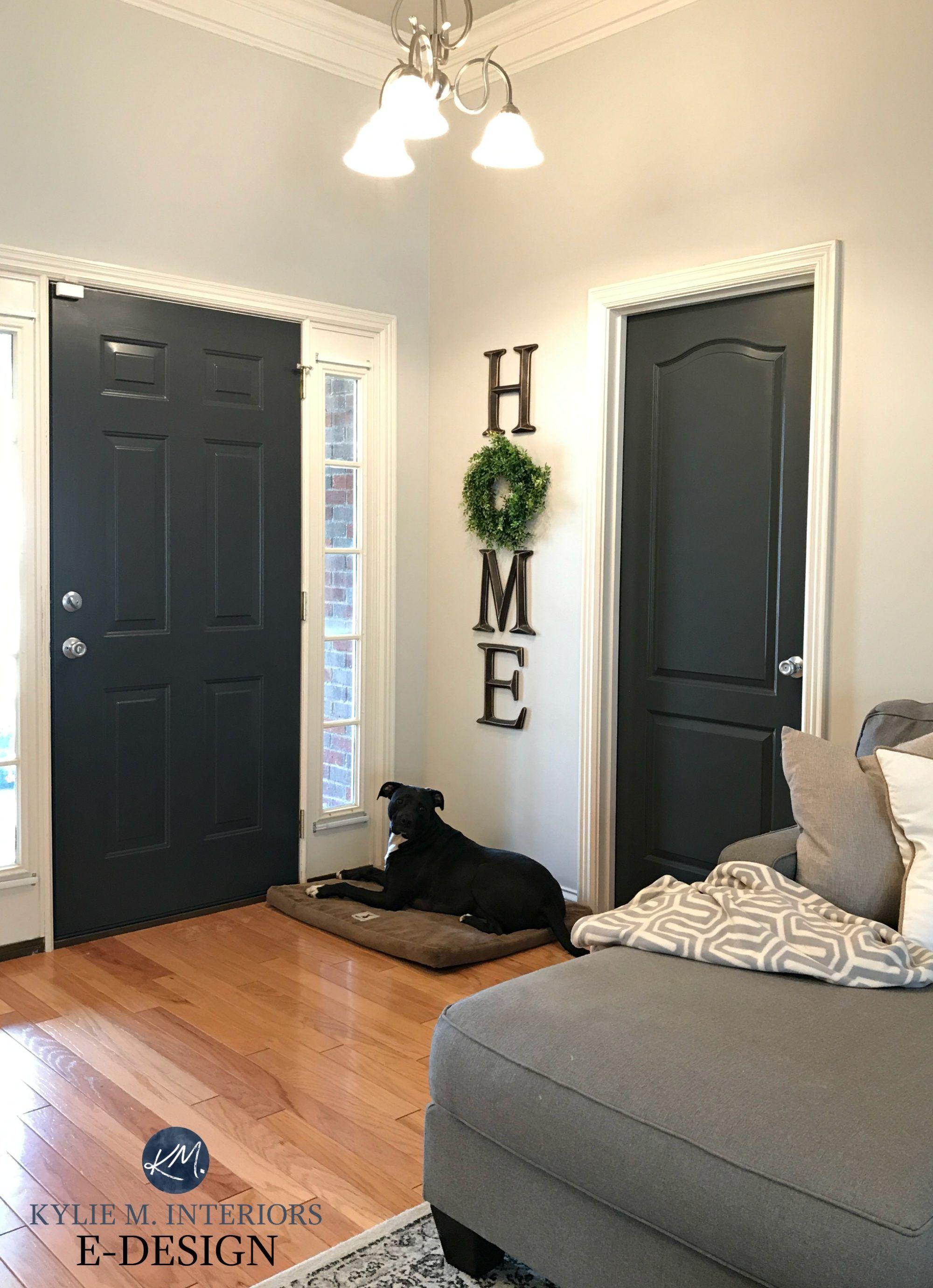 The Best Colours To Paint The Inside Of Your Front Door Interior Door Colors Grey Interior Doors Black Interior Doors