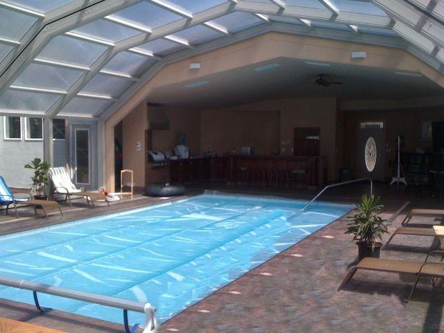 Retractable Pool Enclosure Indoor Outdoor Pool Swimming Pool Enclosures Indoor Swimming Pools