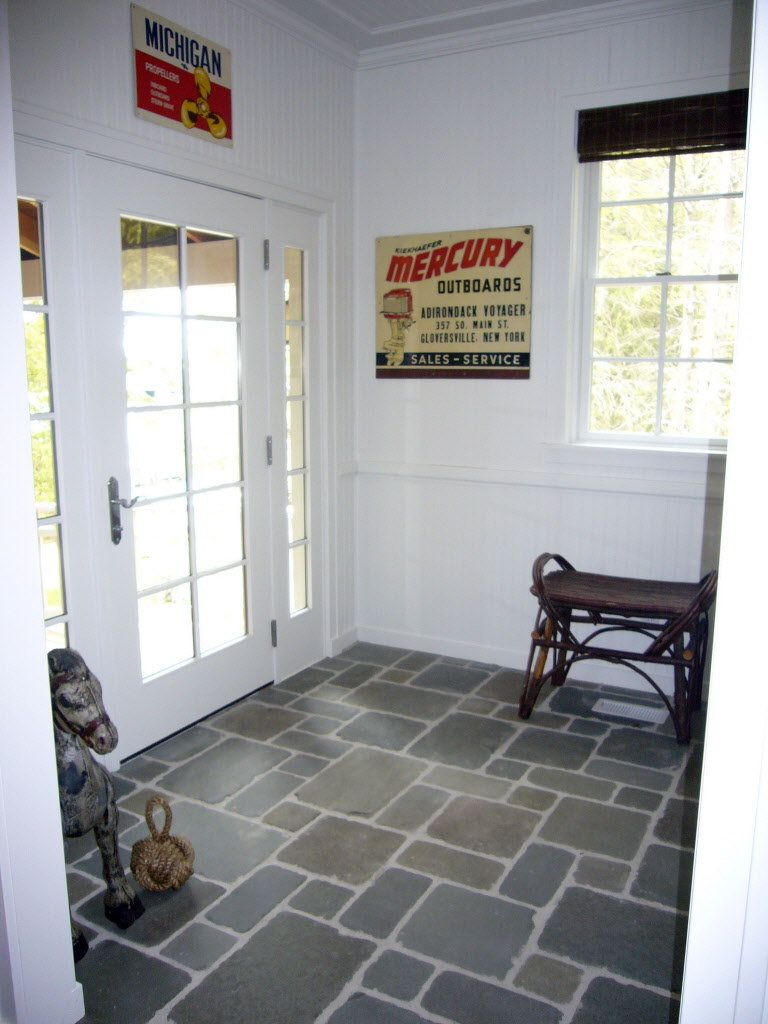 Entryway floor designs flooring dream home pinterest for Mudroom floor ideas