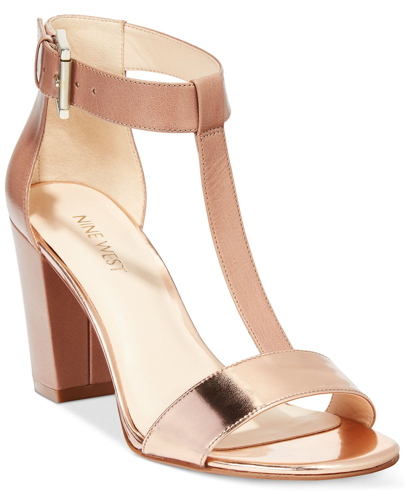 f876b7b86 Nine West Brannah Dress Sandals - Sandals - Shoes - Macy s