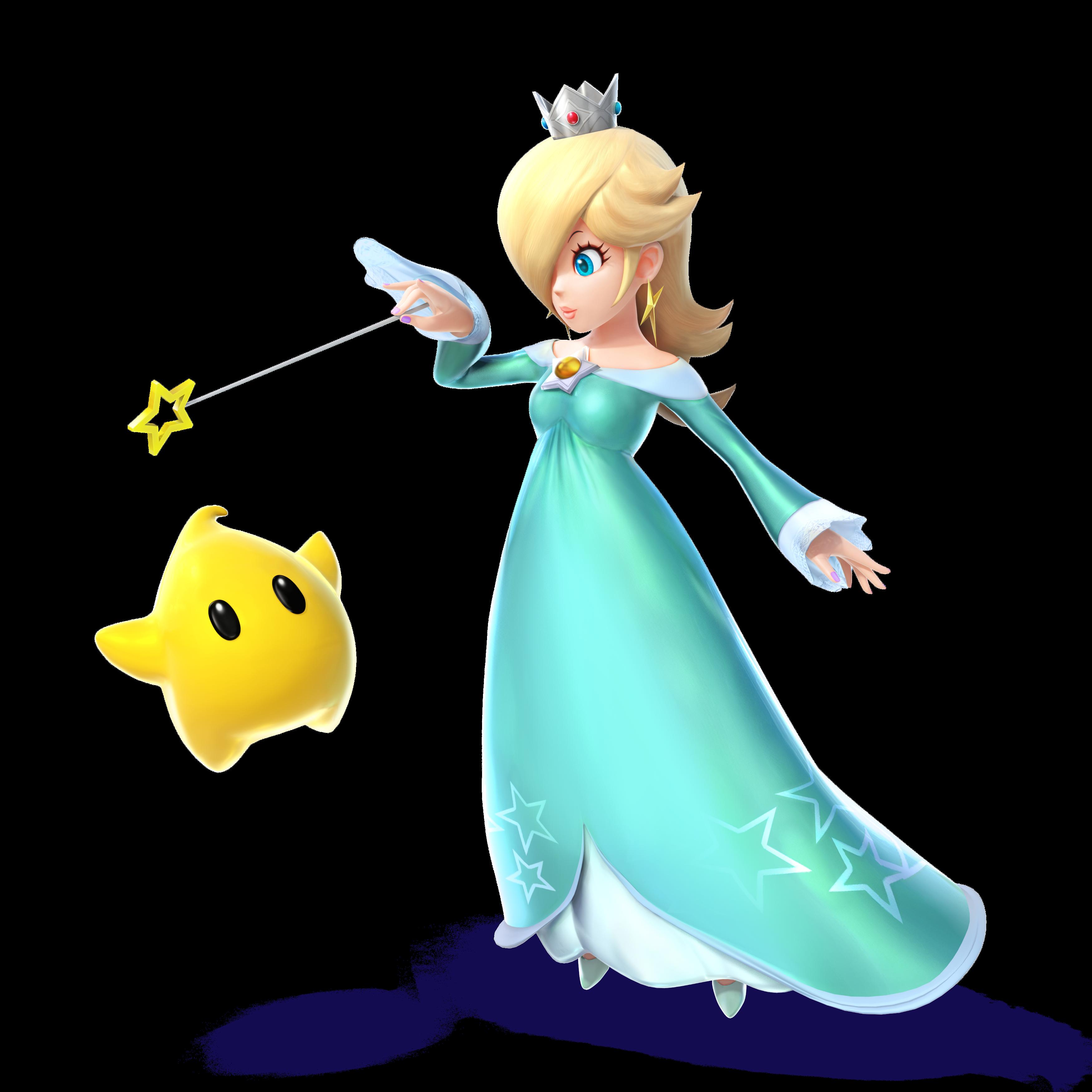 SSB4_Rosalina_Artwork.png (3500×3500) | Princess Rosalina (Mario ...