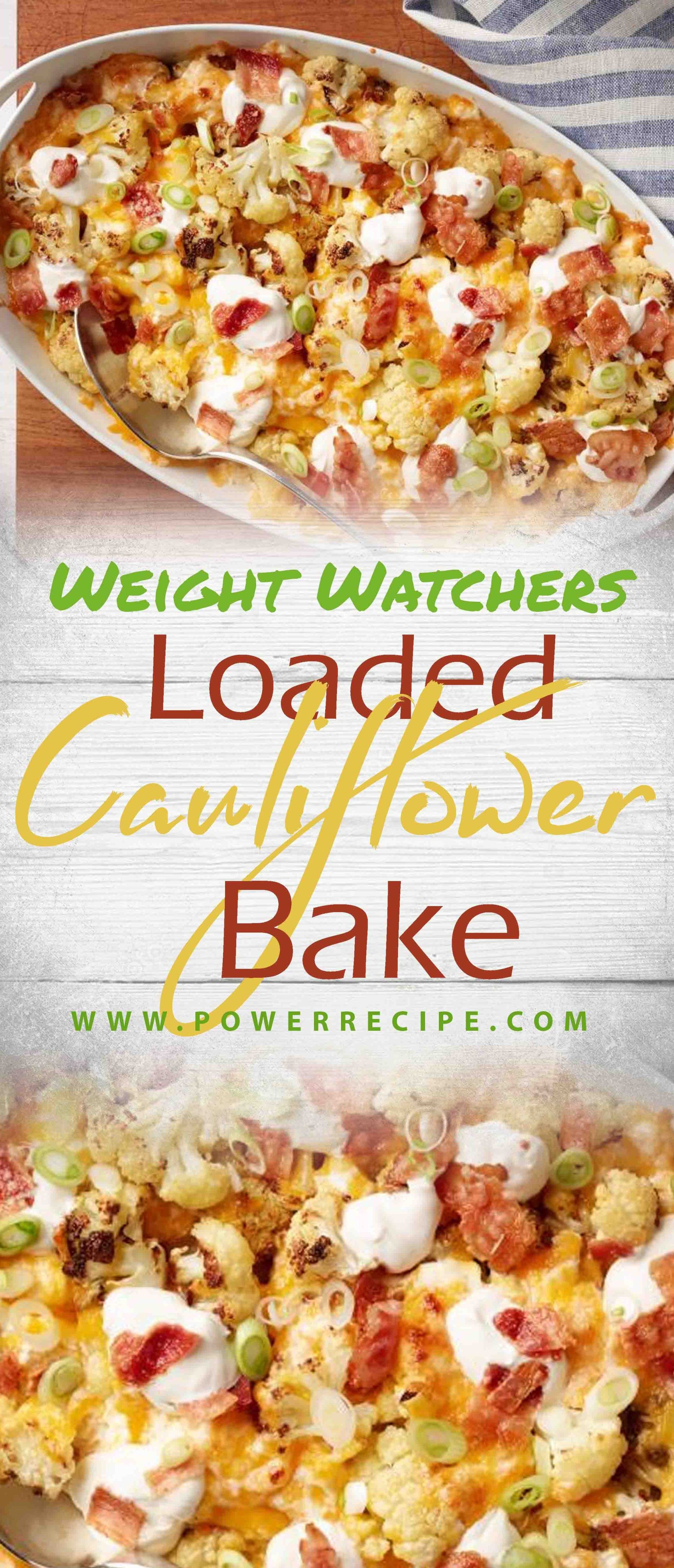 Loaded Cauliflower Bake – All about Your Power Recipes #loadedcauliflowerbake