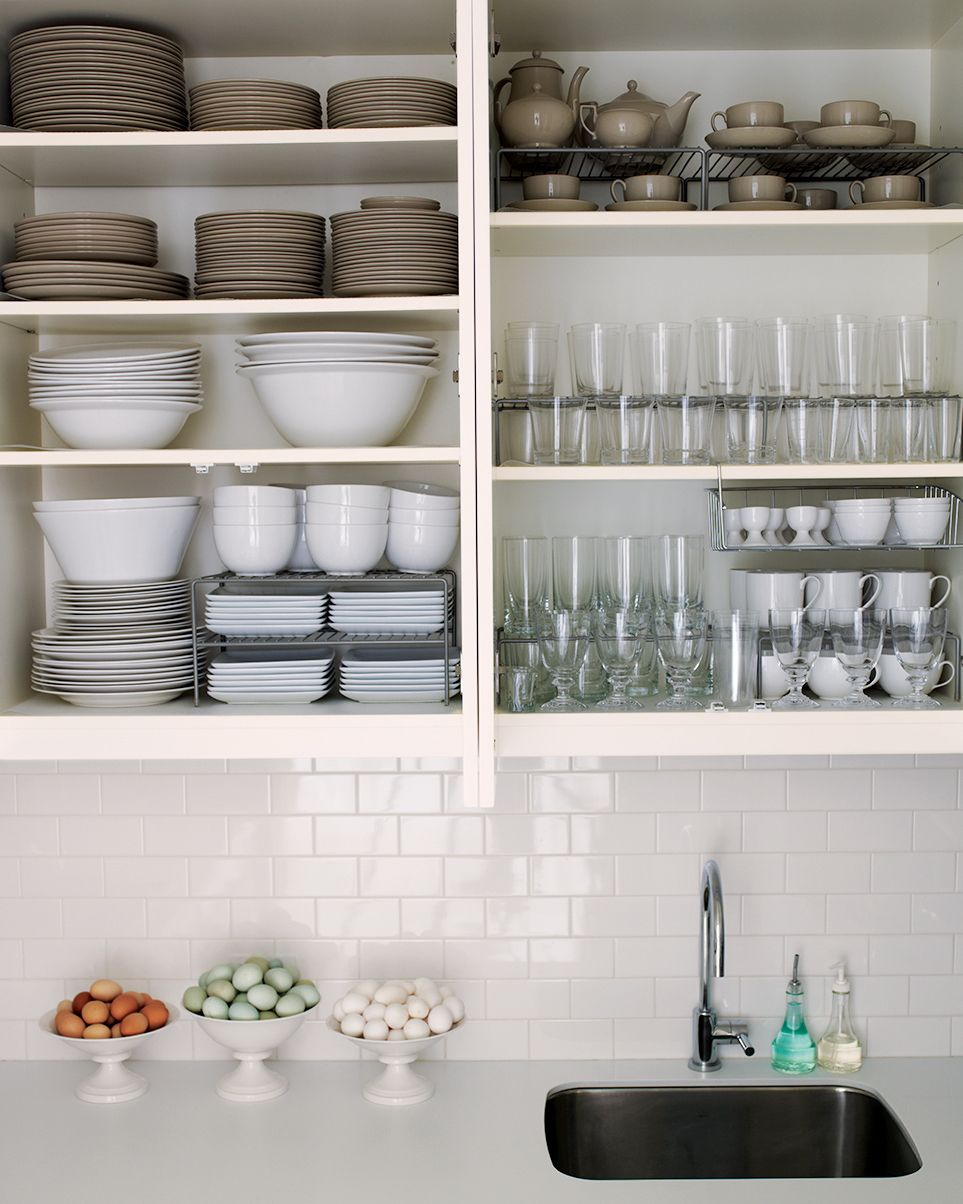 How You Can Organize Your Kitchen Cabinets in 5 Steps | Open ...