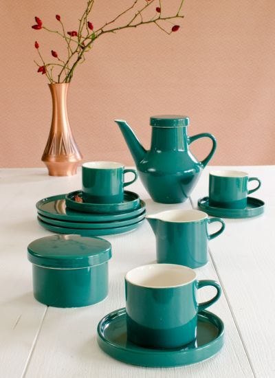 Melitta Stockholm Service In Der Farbe Smaragdgrün