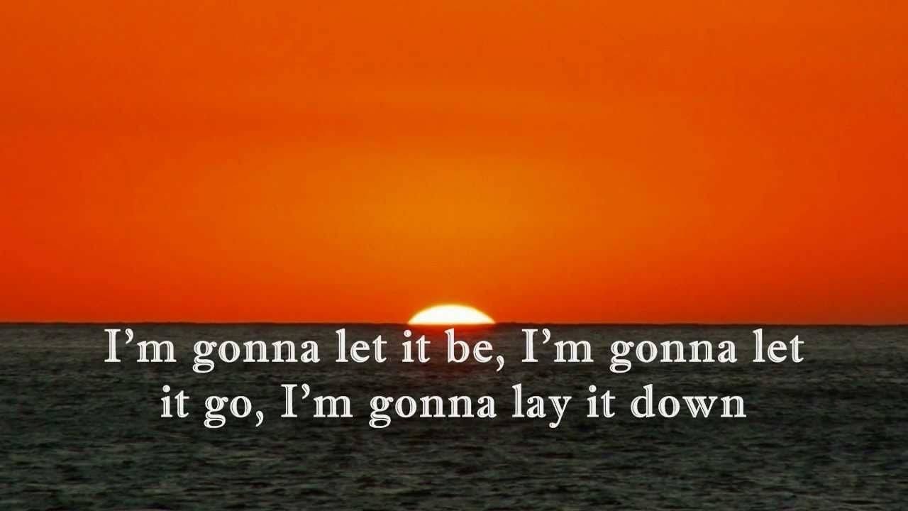 LAY IT DOWN (With Lyrics) : Jaci Velasquez  Break me, knock me down, to my knees I fall, I give you all of me, as I am, now and forever. Hold me; mold me into the person you have me be. Show me where my truth lies on this earth. When I am lost and blind, guide me. I am yours, I surrender, May your will be done. AMEN ~Liza