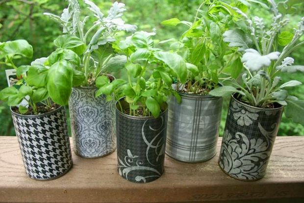20 Tin Can Craft Ideas Flower Vases And Plant Pots Diy Container Gardening Vegetable Garden Planters Plant Pot Diy