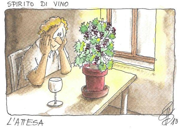 Лучшие винные карикатуры Spirito di Vino 2013
