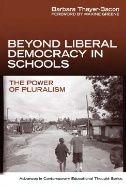 In this book, Thayer-Bacon seeks to find a way to go beyond the dominant  Euro-Western political-social philosophy of classical liberalism whose basic values are individualism, rationalism, and universalism.