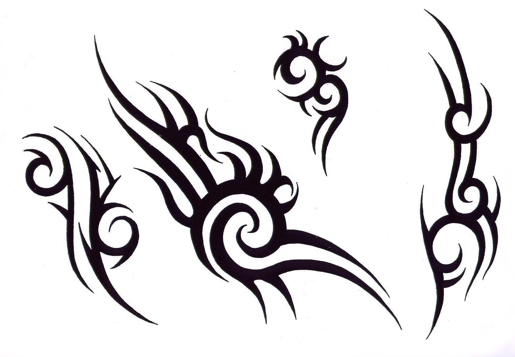 Henna Tattoo Design Tribal: Easy Tribal Tattoo Designs For Men 2014