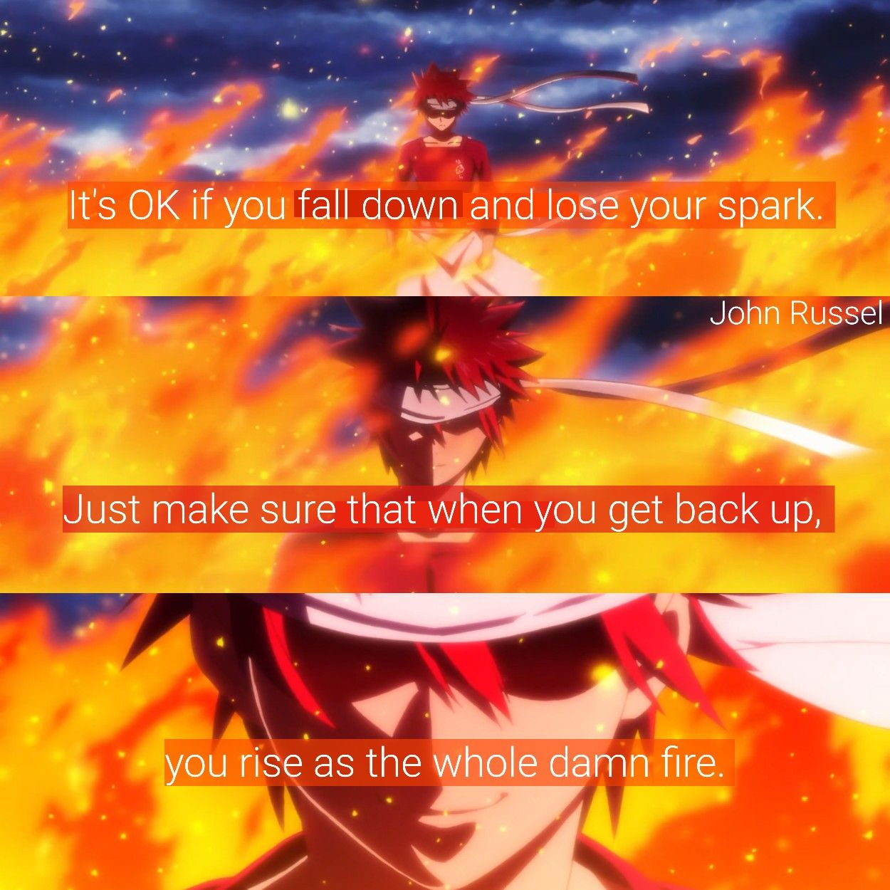 Pin by AnimeQuotesJohnRussel on Anime Quotes Anime