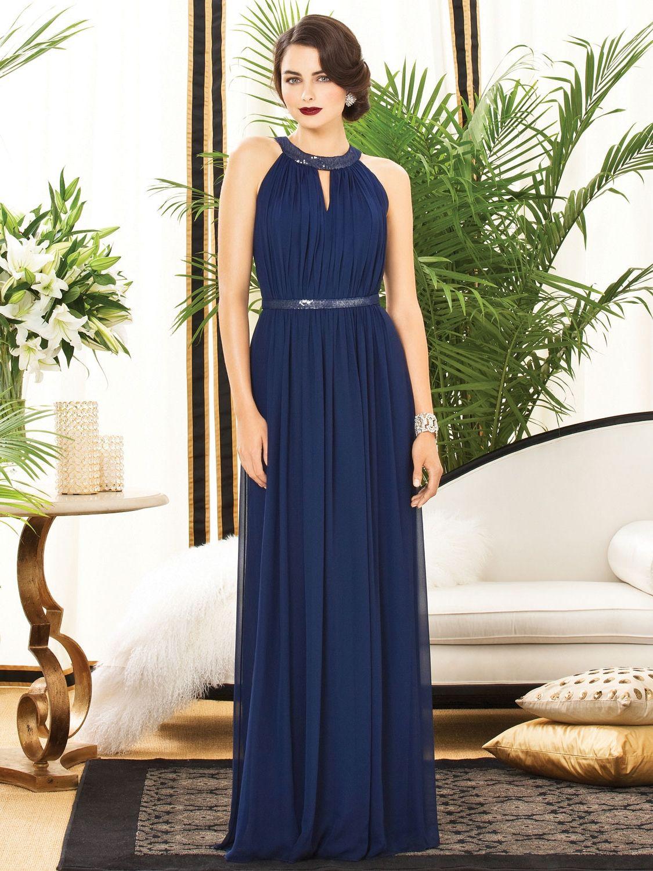 Navy Blue Lace Overlay Bridesmaid Dresses | Bridesmaid/flower girl ...