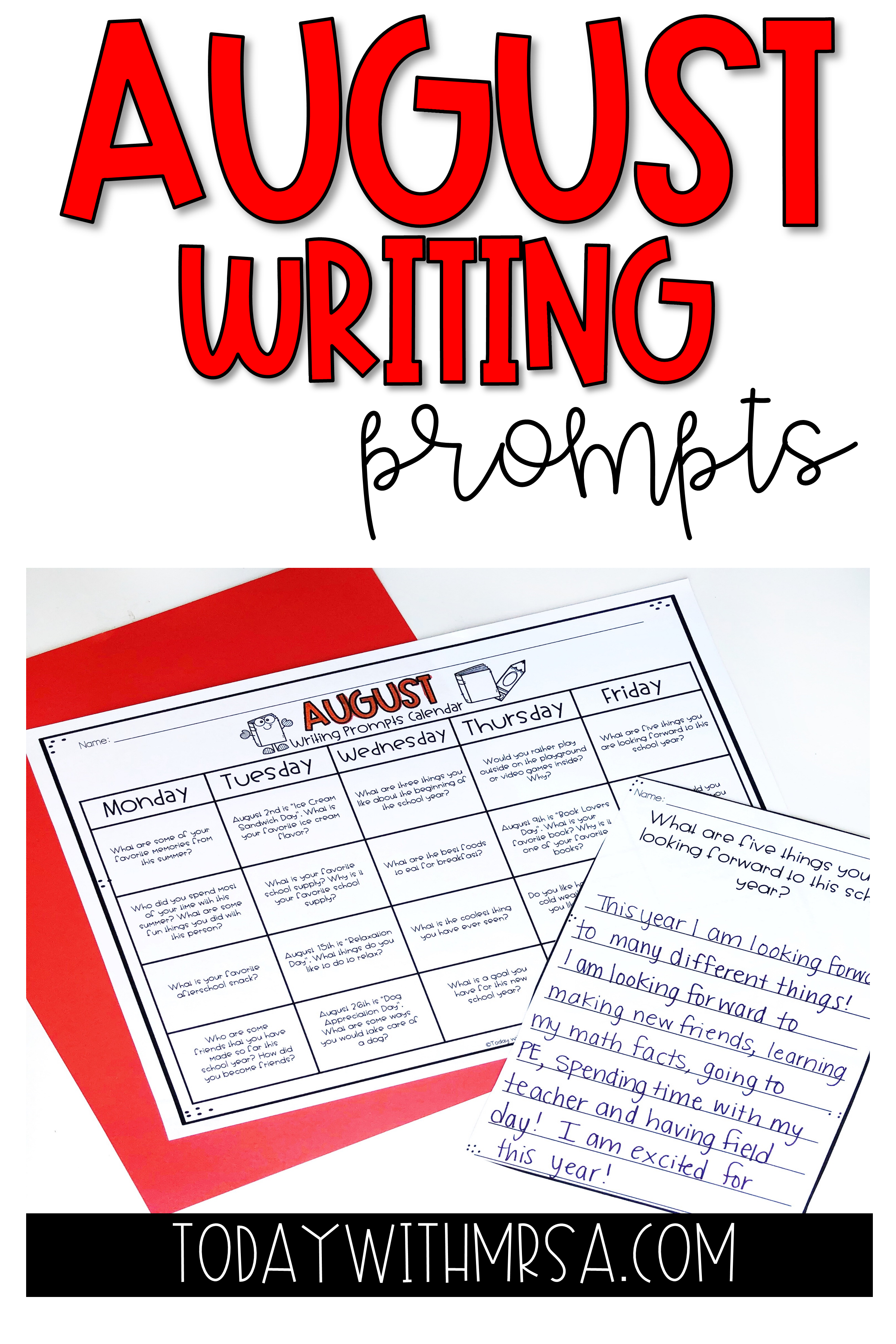 Writing Prompts Elementary Writing Writing Prompts Writing Lessons [ 3600 x 2400 Pixel ]