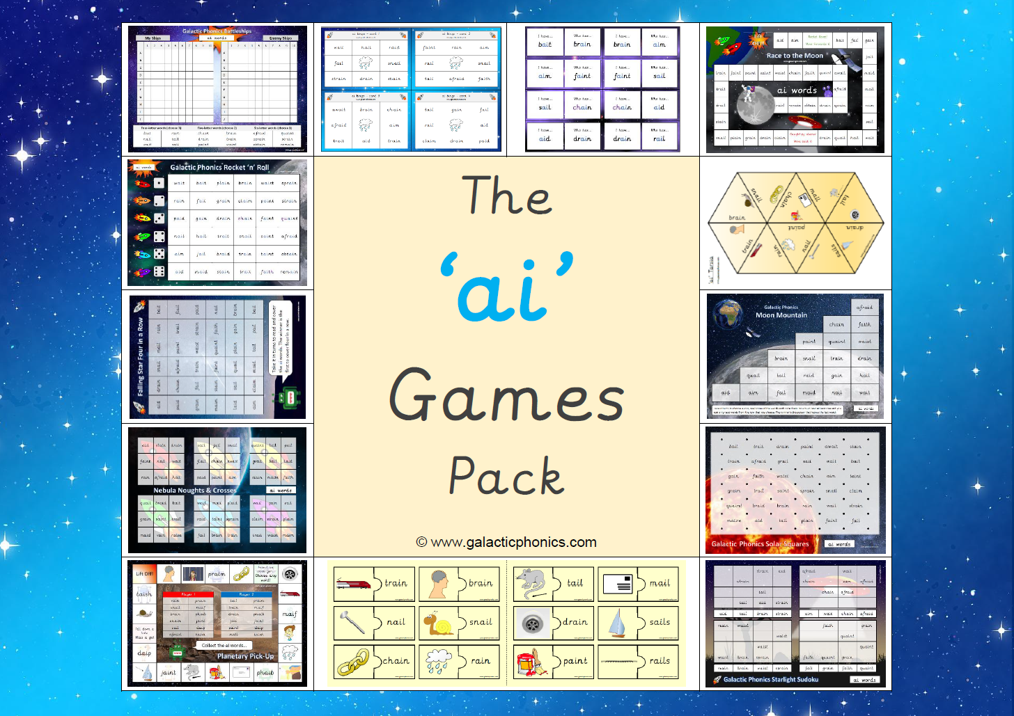 A Set Of Printable Resources That Can Be Laminated And